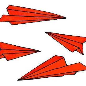 Red planes by kookylane