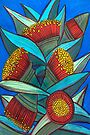 Pastels - Eucalypt Cluster by Georgie Sharp