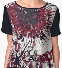 Blood flower Women's Chiffon Top