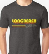 Long Beach, CA | City Stripes T-Shirt
