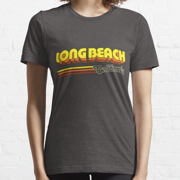Long Beach, CA   City Stripes Essential T-Shirt
