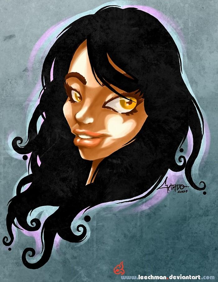 Girl Face 1 by Gardo