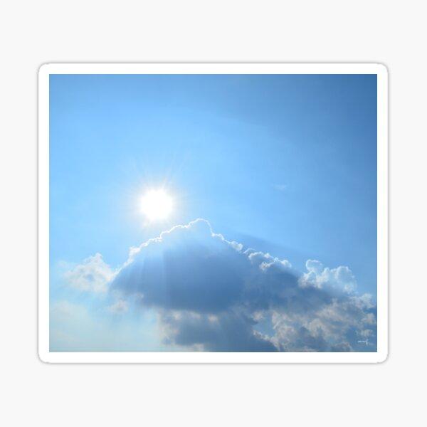 Kiss the Sun Sticker