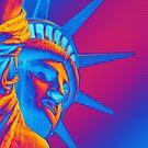 Pop Art Statue of Liberty by morningdance
