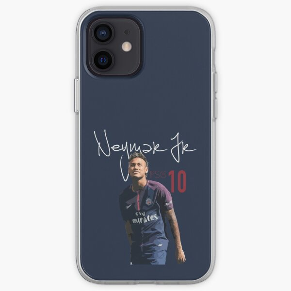 Neymar Jr PSG Funda blanda para iPhone