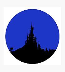 Paris Castle Photographic Print