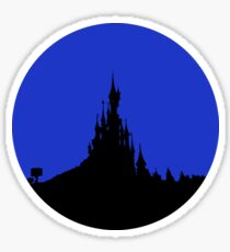 Paris Castle Sticker