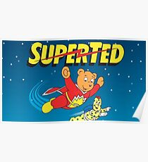 Super Ted Poster