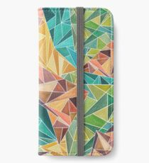 Fall Into Triangles iPhone Wallet/Case/Skin