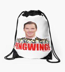 PENGWING Benedict Cumberbatch Penguins Drawstring Bag