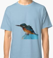 Colorful Kingfisher Vector Classic T-Shirt