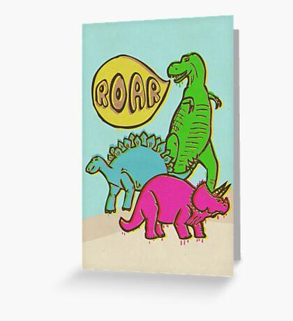Roar! Greeting Card