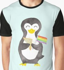Proud as a Penguin Graphic T-Shirt