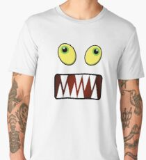 Funny monster face Men's Premium T-Shirt
