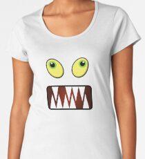 Funny monster face Women's Premium T-Shirt