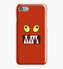 Funny monster face iPhone Case/Skin