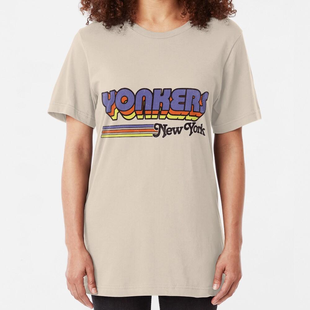 Yonkers, NY | City Stripes Slim Fit T-Shirt