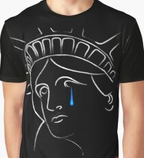 Statue Of Liberty tears Graphic T-Shirt