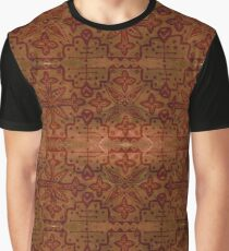 Brown and Rusty Graphic T-Shirt