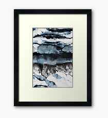 Abstract Marble Framed Print