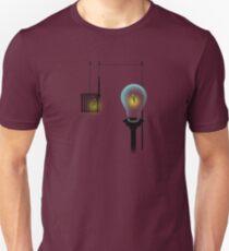 How Lightbulbs Work Unisex T-Shirt