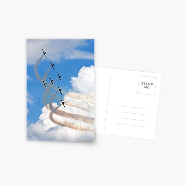 Breitling Jet Team Postcard