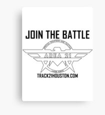 Area 21 Laser Tag - Join The Battle! Canvas Print