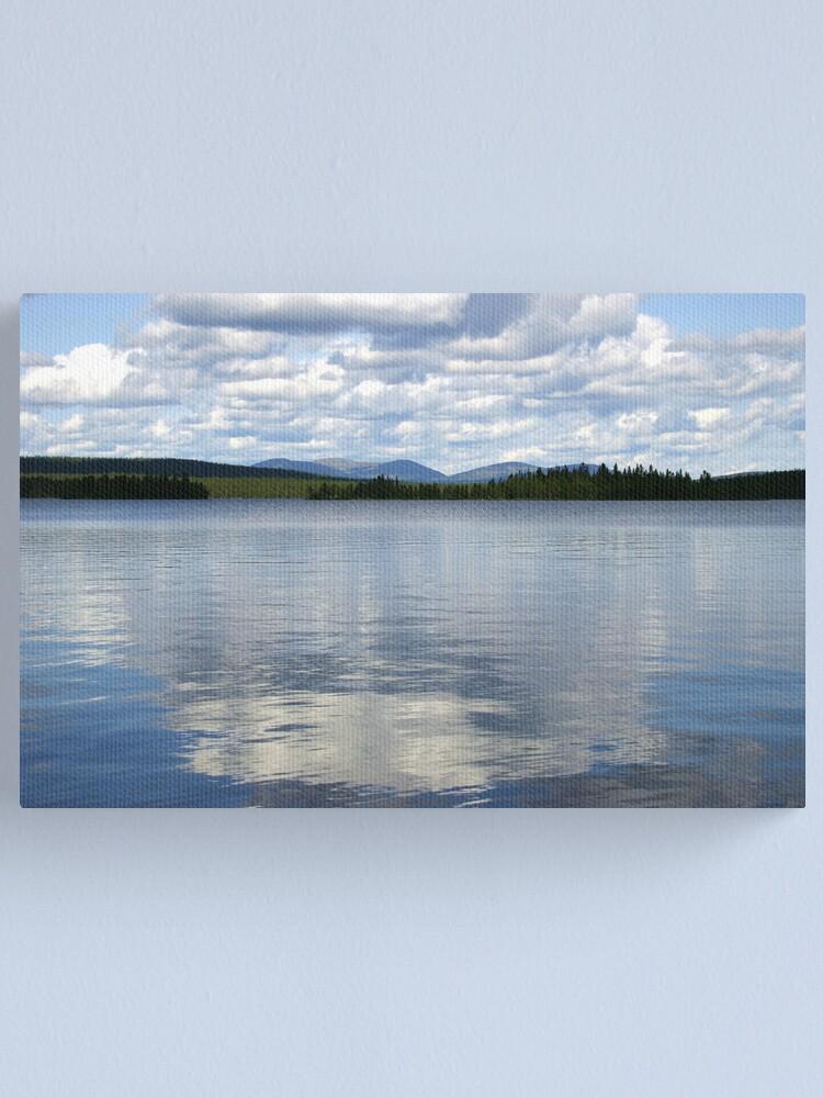Alternate view of Särkijärvi Canvas Print