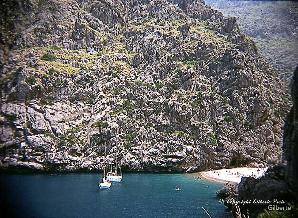 Mallorca - La Calobra by Boat by Gilberte