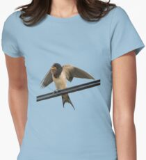 Swallow On A Wire Vector T-Shirt