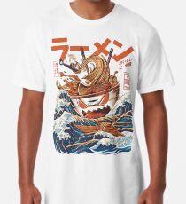 Die großen Ramen vor Kanagawa Longshirt