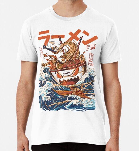 Die großen Ramen vor Kanagawa von Ilustrata Design
