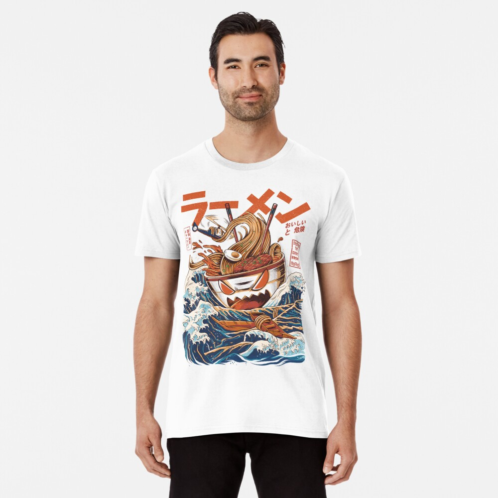 The Great Ramen off Kanagawa Premium T-Shirt