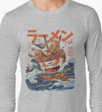 The Great Ramen off Kanagawa Long Sleeve T-Shirt