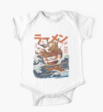 The Great Ramen off Kanagawa One Piece - Short Sleeve
