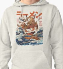 The Great Ramen off Kanagawa Pullover Hoodie