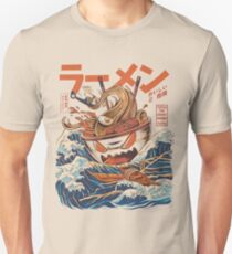 The Great Ramen off Kanagawa Unisex T-Shirt