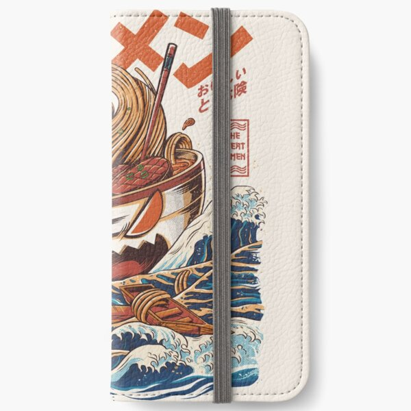 The Great Ramen off Kanagawa iPhone Wallet