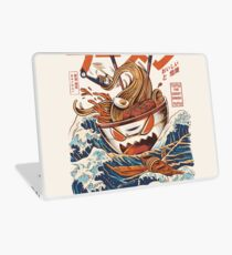 The Great Ramen off Kanagawa Laptop Skin