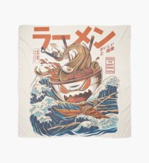 The Great Ramen off Kanagawa Scarf