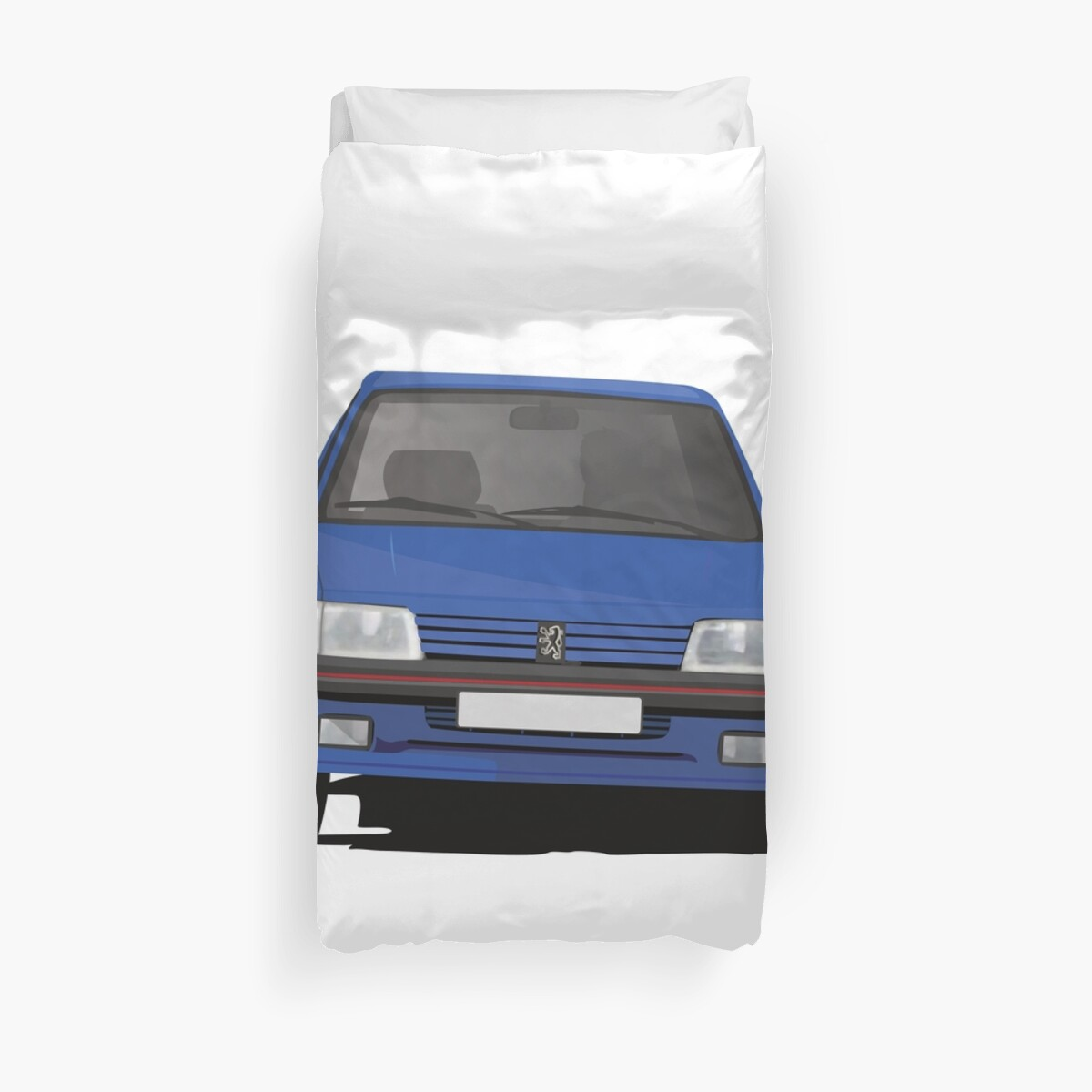 Blue Peugeot 205 GTi by knappidesign