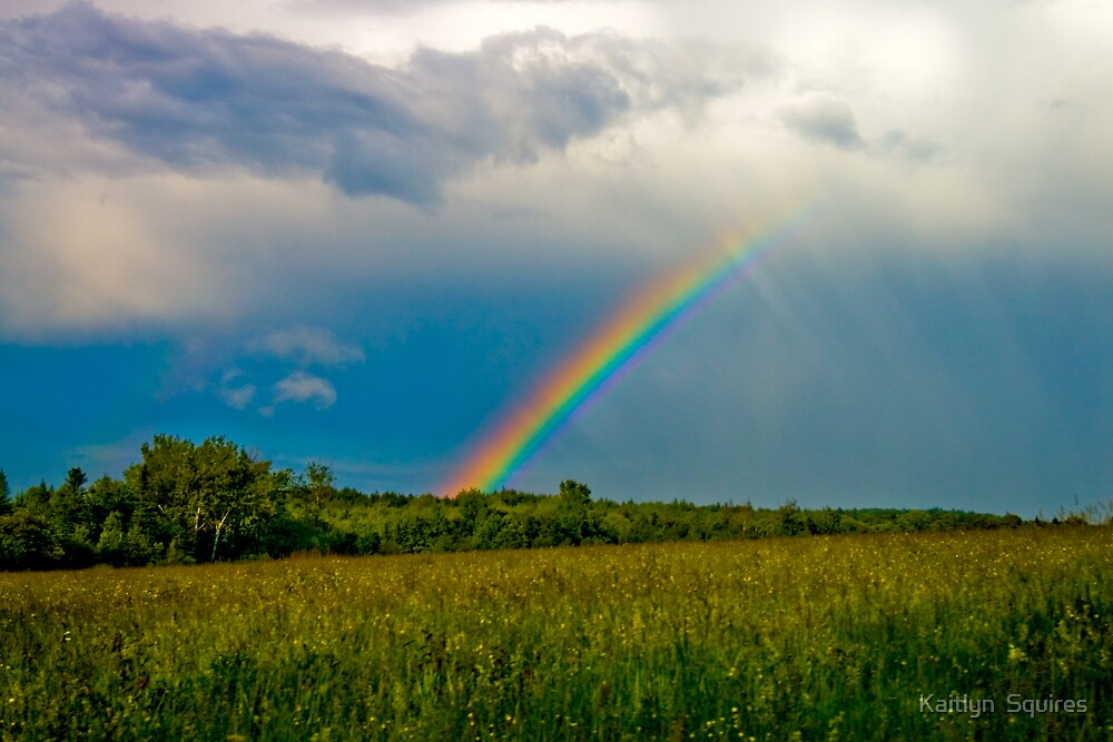 Hill town Rainbow by Kaitlyn  Squires