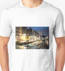 Harbor at Honfleur , France T-Shirt