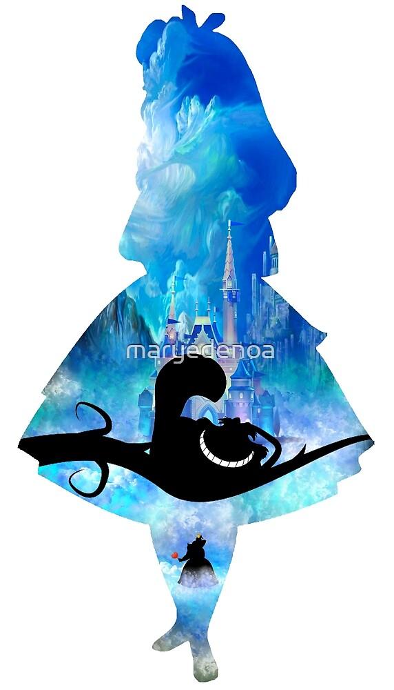«Bienvenidos a Wonderland» de maryedenoa