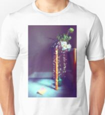 Hall- Blue and Pixelled Up T-Shirt