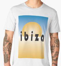 Ibiza, Spain, Spanish, Holiday, Catalan, Eivissa, Island, Mediterranean Sea, Ibitha Men's Premium T-Shirt