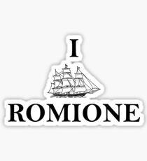 I SHIP ROMIONE Sticker