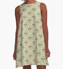 Violin Fox A-Line Dress