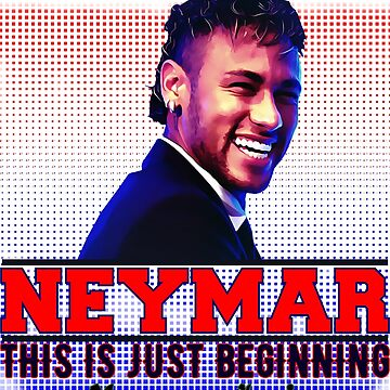 Neymar Junior Tshirt by Mari54
