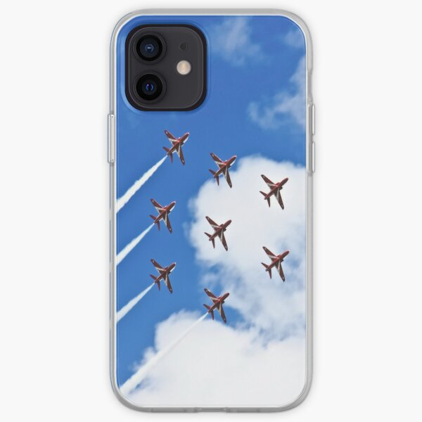 Red Arrows iPhone Soft Case